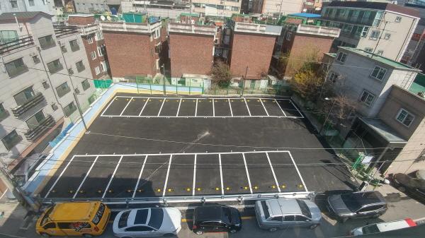 성남시, 금광2동 2910번지 공영주차장 4월..